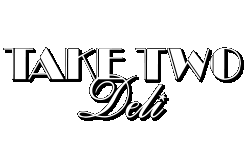 Take Two Deli White Logo